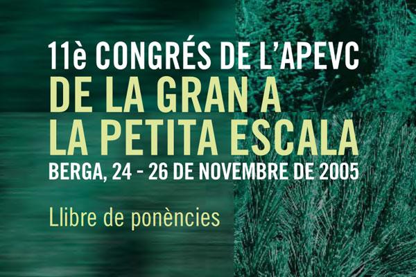 11è Congrés APEVC - 2005