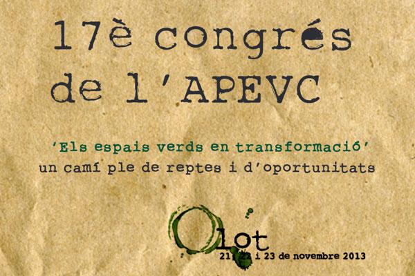 17è Congrés APEVC - Olot 2013
